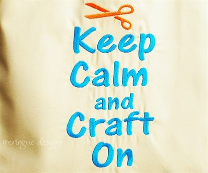 Picture of Keep Calm and Craft On